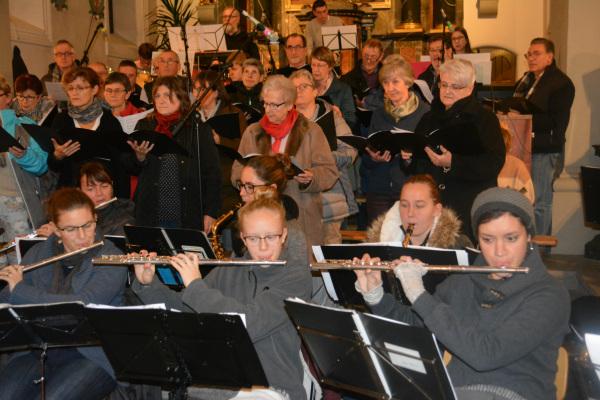 Kirchenkonzert 2018 mit Cäcilienchor Bösingen