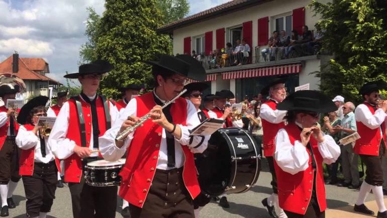 Bezirksmusikfest 2018 in Plaffeien