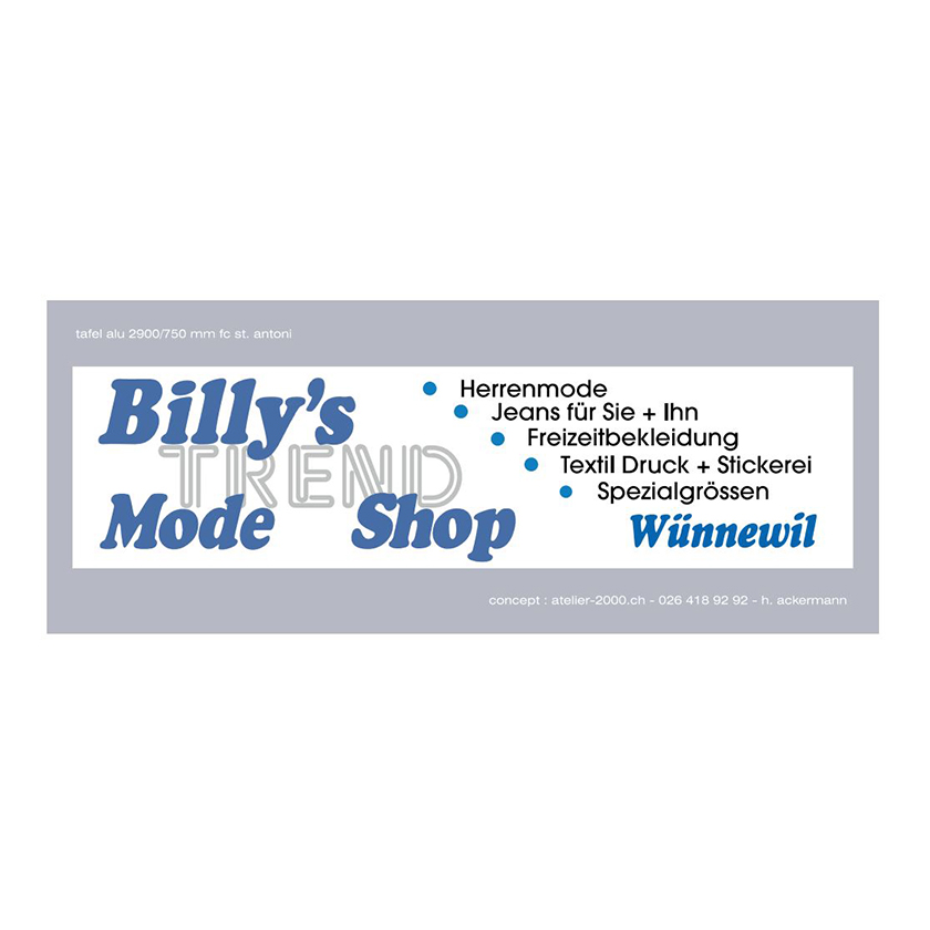 Billys Trend Shop